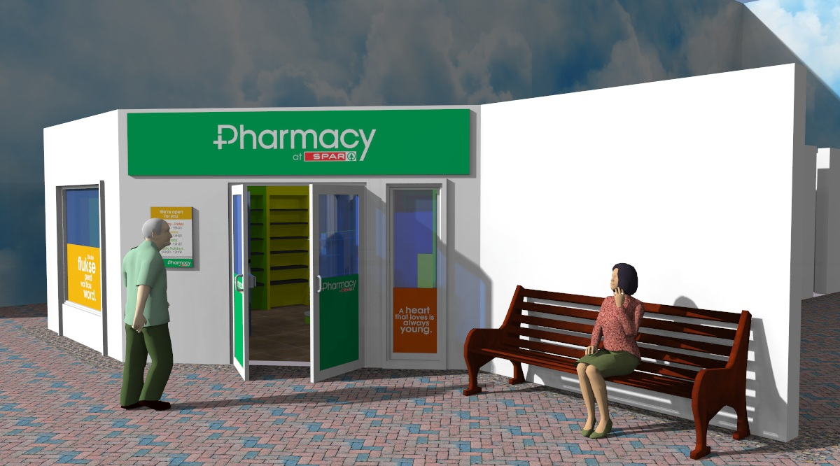 3d retail store concept design shop fitting companies vida for Exterior design of a retail store